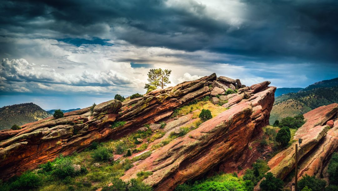 red rocks,colorado,landscape