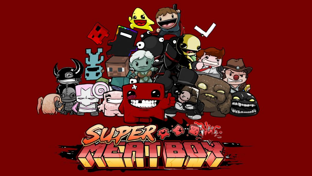 game,wallpapers,1920x1080,обои,hd,Super meat boy