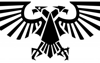 warhammer 40000,imperial eagle,Two-headed eagle