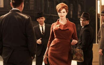 улица,Christina hendricks,безумцы,mad men,joan harris