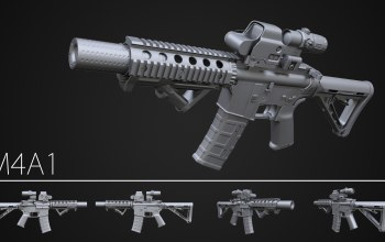 design,assault rifle,M3a1