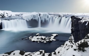 iceland,waterfall,ice