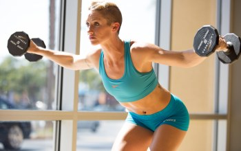 woman,exercises,blonde