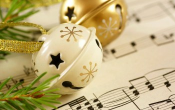 с новым годом,holiday,notes,winter,bells,Music,merry christmas,Happy new year