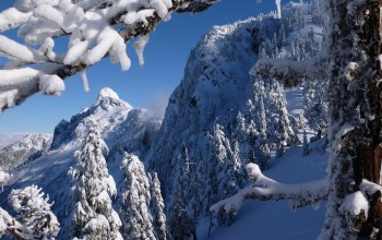 North shore mountains,горы норт-шор,british columbia,vancouver,canada
