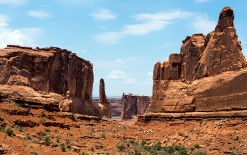 скалы,штат юта,лучи,сша,arches national park