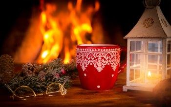 christmas,decoration,камин,рождество,xmas,fire,cup