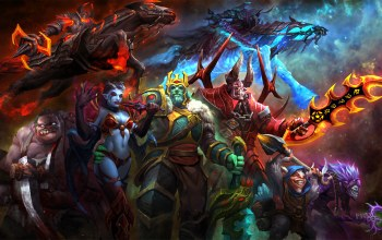 abaddon,pudge,chaos knight,ostarion,butcher,meepo,shadow priest,wraith king,dazzle