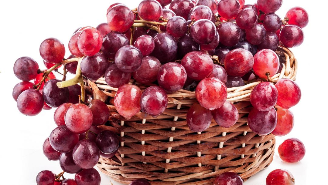 berry,raceme,Red,basket,гроздь,Grapes,виноград