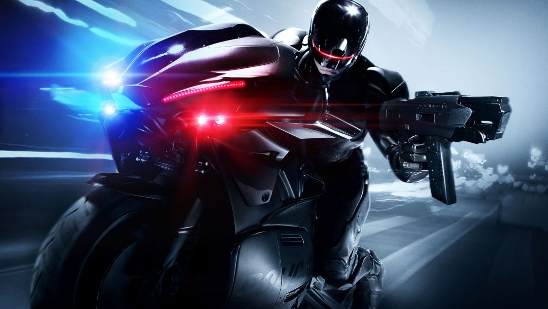 movie,bike,Robocop,joel kinnaman,cop,robo