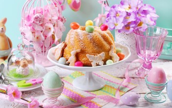 Easter,happy,цветы,яйца,decoration,eggs,Весна,spring