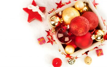 christmas,decoration,balls,рождество,box,Merry
