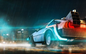 dmc,back to the future,delorean,Назад в будущее
