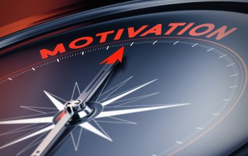 Compass,motivation,red arrow