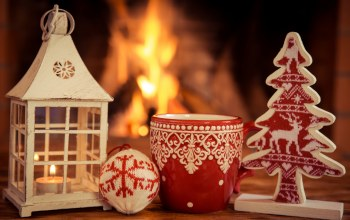 камин,decoration,fire,cup,рождество,christmas,xmas