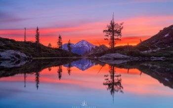 photographer,castle lake,mount shasta,Kenji yamamura,california,водоем