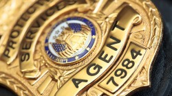 Police badge,Gold,agent