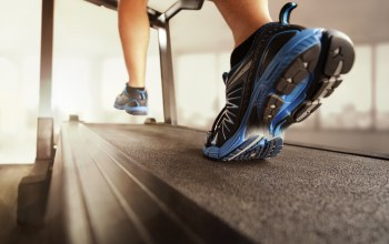 shoes,Running on treadmill,gym