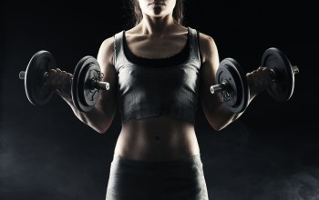 woman,arm strength,Dumbbell,dumbbells
