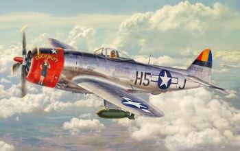 war,P 47 thunderbolt,painting,american fighter,aircraft,aviation,ww2,Airplane