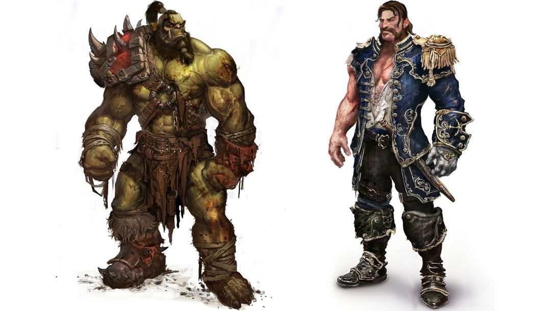 versus,world of warcraft,admiral,wow,artwork,White,mists of pandaria,orc,human