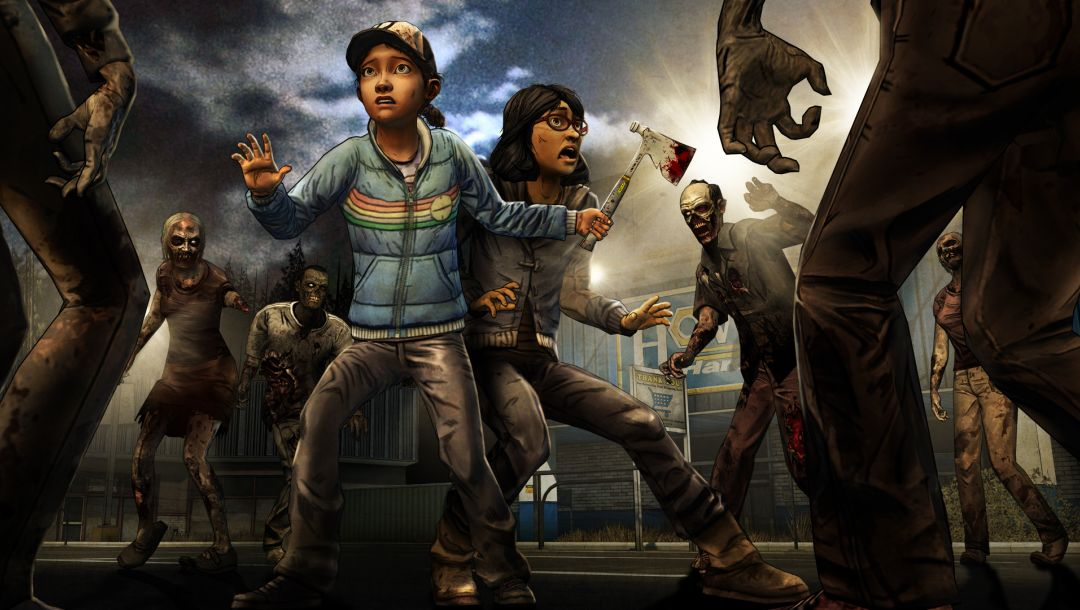 a telltale games series,выжившие,telltale games,The walking dead: season 2