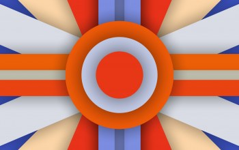 colors,5.0,abstraction,circle,stripes,blue,orange,lollipop,design,line