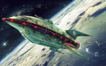 planet express,green ship,ship company