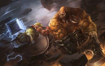 garrosh hellscream,Thrall,world of warcraft,garrosh,wow,warlords of draenor,warcraft