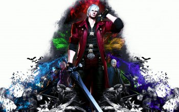 nero,Devil may cry 4: special edition,vergil,capcom