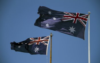 Happy birthday australia,флаги,australia day