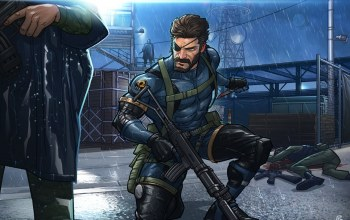 big boss,naked snake,metal gear solid v: ground zeroes,konami,patrickbrown
