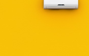yellow,wall,Air conditioning