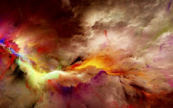 Abstract,unreal,background,Облака,space,colors,clouds