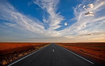 cloud,straight,Road to nowhere
