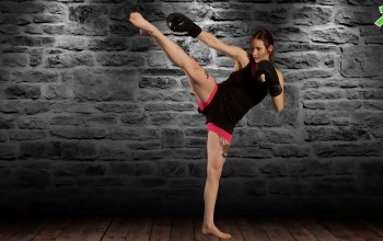 pose,Kick,martial arts training