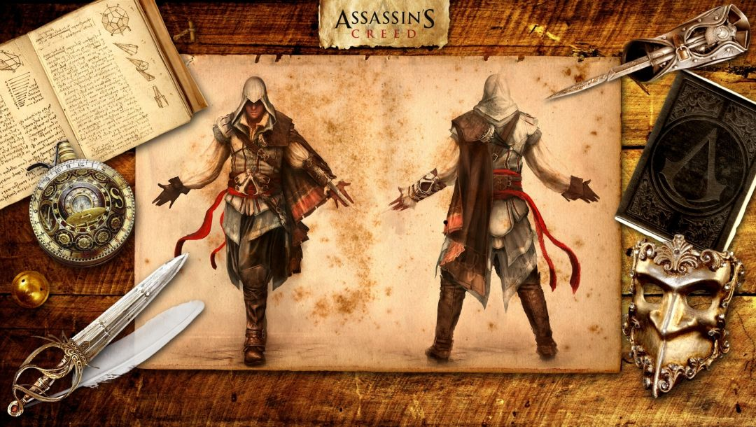 ezio,Assassins creed 2,убийца