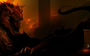 Smaug,lord of the rings,The hobbit