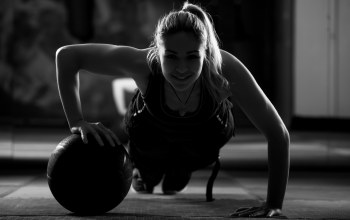 crossfit,woman,ball training,Shadows,workout