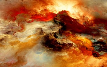 background,space,clouds,Облака,colors,Abstract,unreal