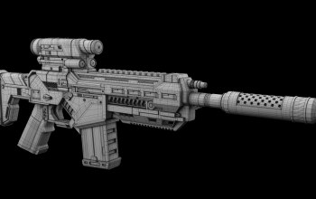 design,firearm,assault rifle