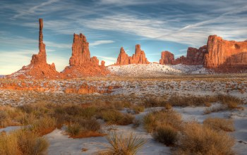 Arizona,Monument valley,snow,navajo tribal park,utah