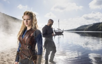 ragnar lodbrok,katheryn winnick,викинги,travis fimmel,Vikings