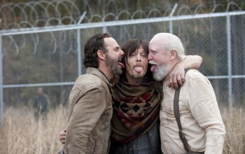 языки,the walking dead,настроения,scott wilson,andrew lincoln,norman reedus