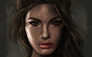 lara croft,tomb raider,портрет