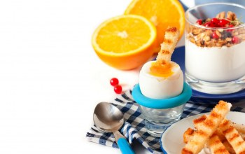 yogurt,breakfast,granola,milk,orange,мюсли,food,завтрак,оранжевый