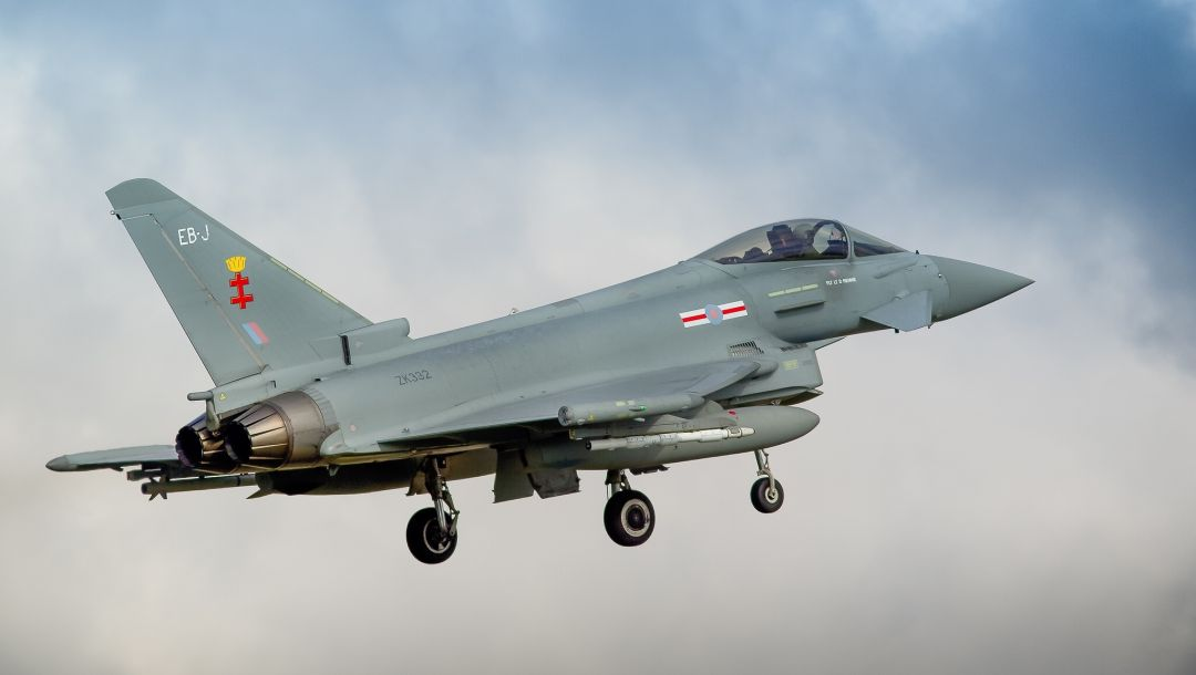 истребитель,Eurofighter typhoon