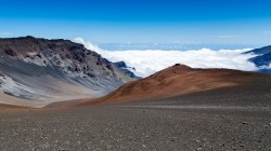 Volcano haleakala,вулкан,hawaiian island of maui,горы