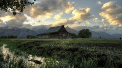 Moulton barn,Grand teton national park,Hdr