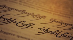 the lord of the rings,writing,paper,j. r. r. tolkien,ink,sindarin